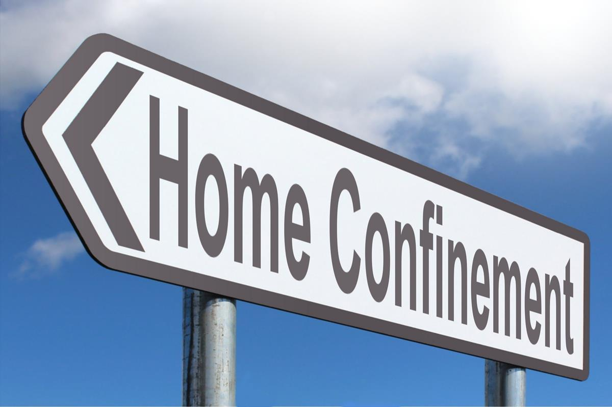 home-confinement