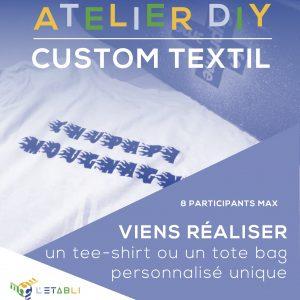 atelier workshop diy custom textile